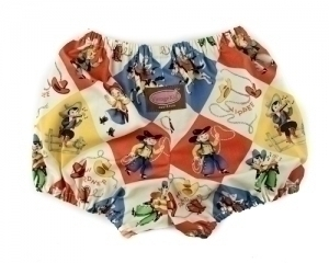 Yippee Cowboys and Cowgirls Nappy Cover