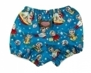 Retro Rocket Rascals Retro Space Nappy Cover