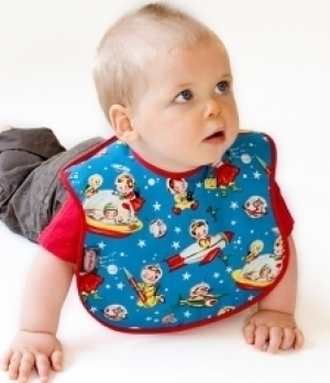 Retro Space Bib