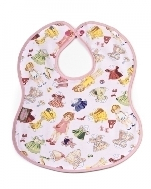 Paper Dolly Bib