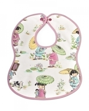 Little China Dolls Bib