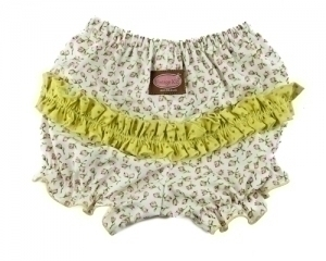 Ruby Rosebud Ruffle Pants