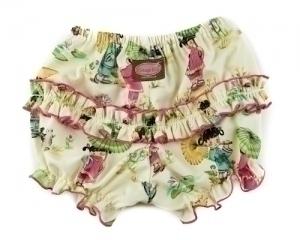 China Doll Ruffle Pants