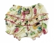 China Doll Ruffle Pants