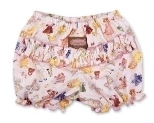 Paper Doll Ruffle Pants