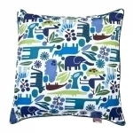 Blue Zoo  Pillow