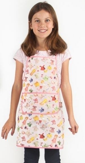 Paper Doll Apron