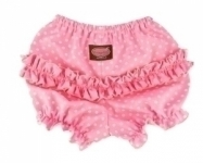 Pink Dot Ruffle Pants