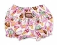 Pink Ice Creams Ruffle  Pants