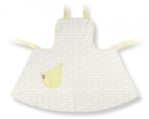 Ladies Ruby Rosebud Full Apron