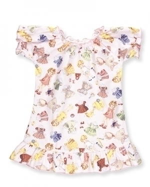 Paper Doll Party Dress