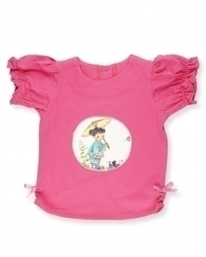 China Doll Ruffle T Shirt