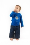 Yippee Royal Blue Long Sleeve T Shirt