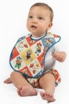 Yippee Bib with blue binding
