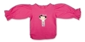 Yui Kosheshi Doll Long Sleeve Top In dark pink