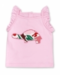 Pink Zoo Tortoise Singlet