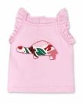Pink Zoo Tortoise Singlet