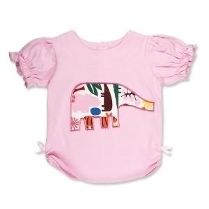 Pink Zoo Elephant T Shirt