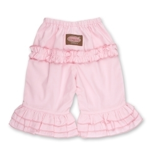 Pink Long Ruffle Pants