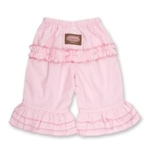 Pink Long Ruffle Pants