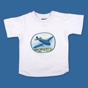 Transport T Shirt Blue Aeroplane