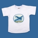 Transport T Shirt Blue Aeroplane