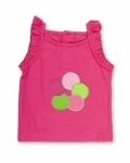Disco Dot Pink Singlet