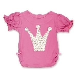 Ruby Rosebud Princess Crown T Shirt