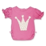 Ruby Rosebud Princess Crown T Shirt