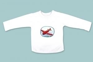 Red Aeroplane Long Sleeve T Shirt