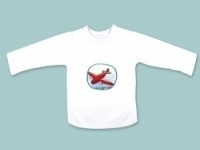 Red Aeroplane Long Sleeve T Shirt