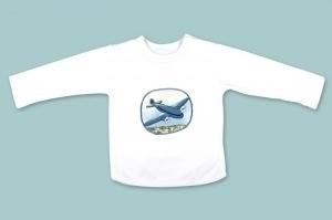 Blue Aeroplane Long Sleeve T Shirt