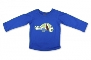 Blue Tortoise Long Sleeve T
