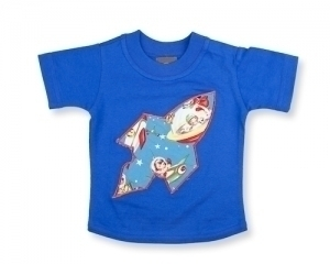 Reto Space T shirt in Royal Blue