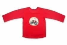 Transport Long Sleeve T shirt Tricycle