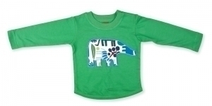 Green Elephant Long Sleeve T