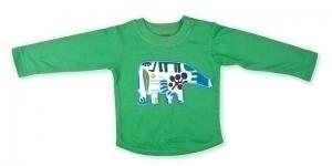 Green Elephant Long Sleeve T