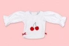 Cherry Long Sleeve Top