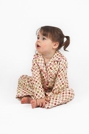 Vintage Dot Winter Pyjamas