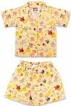 Paper Doll in Yellow Summer Pyjamas