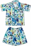 Blue Zoo Summer Pyjamas
