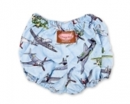 Vintage Plane Nappy Cover