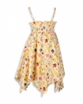 Yellow Paper Doll Hankie Dress