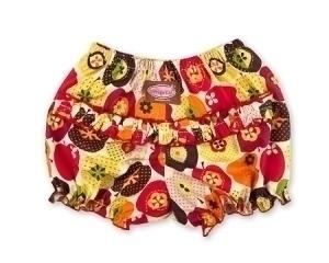Vintage Apple Ruffle Pants