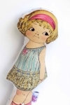 Chloe Rattle Doll by Retro Bird