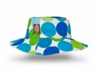 Blue Disco Dot Hat
