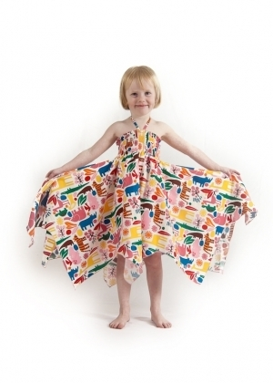 Pink Zoo Hankie Dress
