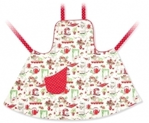 50's Kitchen full apron