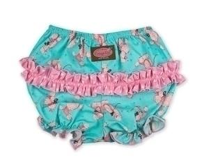 Pink Poodles Ruffle Pants