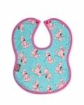Pink Poodles Bib